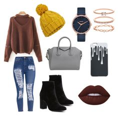 """""""Fall fashion."""" by olympia-valance ❤ liked on Polyvore featuring Miss Selfridge, Witchery, Givenchy, Nixon and Accessorize"""