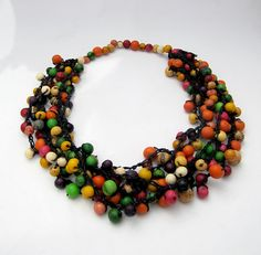Hey, I found this really awesome Etsy listing at https://www.etsy.com/listing/75559216/multistrand-necklace-colorful-bead