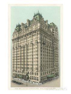 Bellevue-Stratford Hotel, Philadelphia, Pennsylvania Print at AllPosters.com