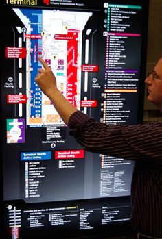 5 Considerations for Interactive Wayfinding in Airports March 25, 2010  Some interesting points in the article too