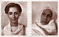 The first Ethiopian fashion model