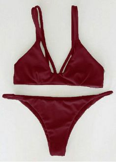 GET $50 NOW | Join RoseGal: Get YOUR $50 NOW!http://www.rosegal.com/bikinis/alluring-spaghetti-strap-solid-color-1012971.html?seid=3s4vi33pes1bssqchjetbp6ps4rg1012971