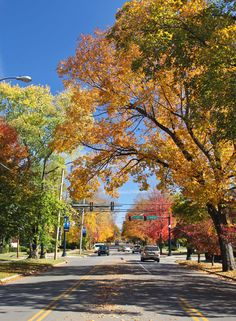 Main Street Murfreesboro in the Fall