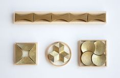 FUTAGAMI 真鍮箸置き