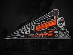 Spokane Empire Train Logo