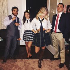 25 Hottest College Halloween Costumes Thatll Step Up Your In Halloween Inspo, Easy Costumes, Halloween Costumes For Girls, Girl Costumes, Costumes For Women, Costume Ideas, Halloween Halloween, Family Costumes, Couple Costumes