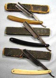 vintage straight razors