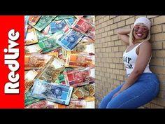 Phindile Gwala Eating Money, Cops Eating Money, Money Tastes Like Chicken