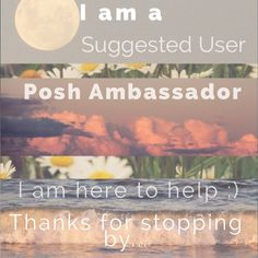 Questions? Comments? If you are new to Poshmark, feel free to ask me any questions you have. If I can help, I will! Before becoming a Posh Ambassador I was apart of Posh's Suggested User program. This means I am a seller you can trust. Thanks for stopping by! Leave me a comment so I can check out your closet as well :) Anthropologie Accessories