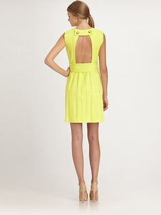 Milly  Airs Belted Shift Dress