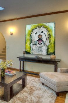 Marmont Hill Inc. Smiley Dog Canvas Wall Art