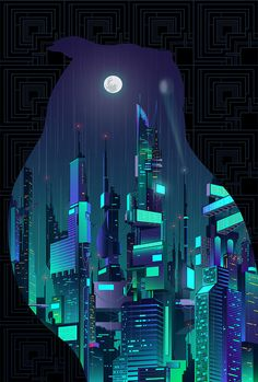 "Previews from the Blade Runner inspired music & art show, ""Moments Lost""."
