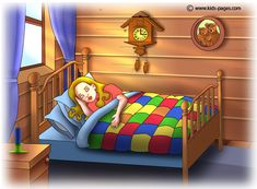 Free puzzles to play online Good Morals, Goldilocks And The Three Bears, 3 Bears, Big Beds, Kids Pages, Stories For Kids, Conte, Night Time, How To Fall Asleep