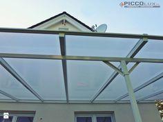 Daszki tarasowe Piccolux  zapewniają ochronę przed deszczem, śniegiem, wiatrem oraz nadmiernym nasłonecznieniem. http://www.piccolux.pl/