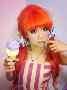 Betico Rouge gyaru ice cream doll .。.:*❤