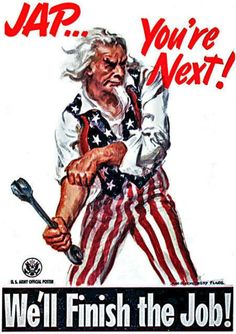 You're next - WWII propaganda posters
