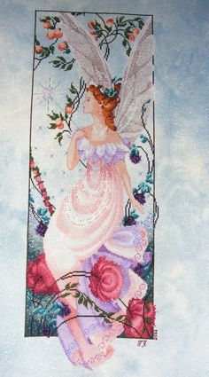 Cross stitch from Nora Corbett. (Part 1) Mythical LADIES