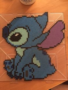 Stitch Perler by TheBeadLyfe on Etsy