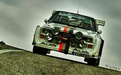 Audi Vintage Rally Racing