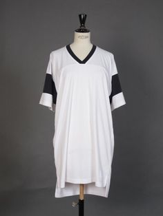 ALEXANDER WANG : FOOTBALL LONG T DRESS