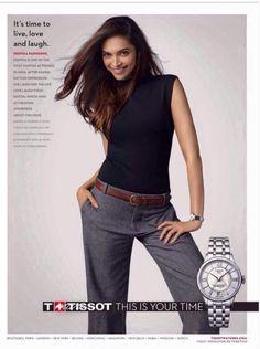 #Deepikapadukone for #Tissot