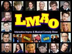 LIVE Comedy Tonight 9 & 11pm. 3 & 8 Saturdays Improv Comedy  https://web.ovationtix.com/trs/pr/927893/prm/walter101 #Broadway #Comedy #Club