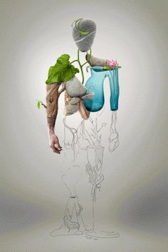 Nature Man – Digital illustration