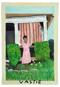 Girls Standing on Lawns: A Quirky Collaboration Between Maira Kalman, Daniel Handler, and MoMA | Brain Pickings