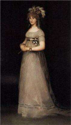 Retrato de la condesa de Chinchón - Francisco de Goya