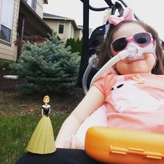 Her disease, Charcot-Marie-Tooth, is a hereditary disease where neurons in the brain and spinal cord are progressively destroyed, CNN reports.  The very sick little girl had to suffer through naso-tracheal suctioning several times a day during her hospital visits, to remove the mucus that settles into