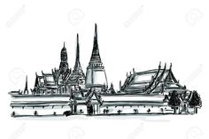 Afbeelding van http://previews.123rf.com/images/teddybearpicnic/teddybearpicnic1209/teddybearpicnic120900010/15276739-Free-hand-sketch-World-famous-landmark-collection-Grand-Palace-Wat-Phra-Kaew-Bangkok-Thailand-Stock-Vector.jpg.