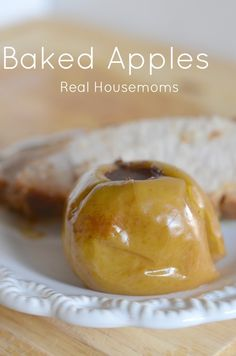 Cinnamon, sugar and butter combine inside of these baked apples for the most delicious fall side or dessert.