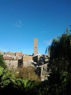 Veduta del quartiere medievale di San Pellegrino da Pianoscarano