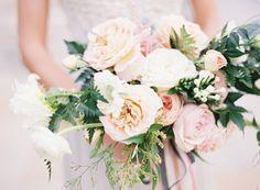Blush Pink Spring Garden Wedding Inspiration