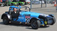 Caterham Supersport car.