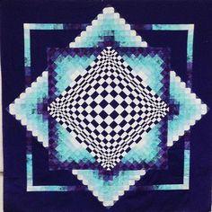 Purple+Haze+Convex+Illusions+Quilt+Kit+by+Creative+Quilt+Kits+at+Creative+Quilt+Kits