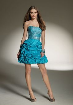 cocktail dress blue for juniors