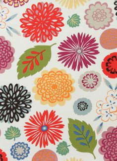 Alexander Henry - Collections - Pink Zinnia - Natural http://www.ahfabrics.com/collections/category/287-pink-zinnia