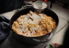 Zapiekany omlet z jabłkami