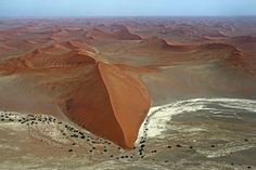 Namib Sand Sea, UNESCO world heritage site, Namib desert, Namibia. Beautiful Places In The World, Great Places, Places To Go, Amazing Places, Namib Desert, The Perfect Getaway, Africa Travel, Amazing Destinations, World Heritage Sites