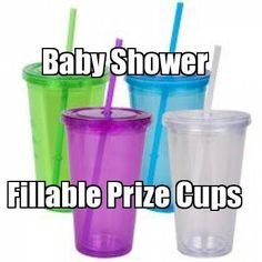 Refillable Prize Cups•dollar store cups by the case