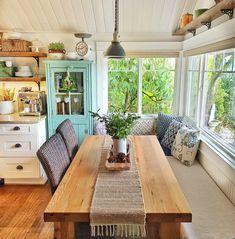 Cottage Living Rooms, Cottage Interiors, Living Spaces, Faux Fireplace Mantels, Fireplace Mantel Surrounds, Winter Home Decor, Holiday Decor, Kitchen Design, Kitchen Decor