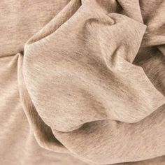 Melange Cotton Jersey Sweat - Beige | buy in-store and online from Ray Stitch