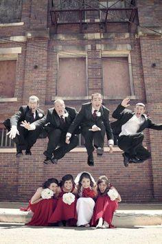 Fotos de casamento muito criativas, Casa de sobra