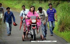 Mollywood Frames. | Malayalam cinema | Malayalam films: Nazriya's bike riding secret.... !