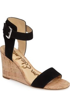 Sam Edelman Willow Strappy Wedge Sandal (Women) available at #Nordstrom