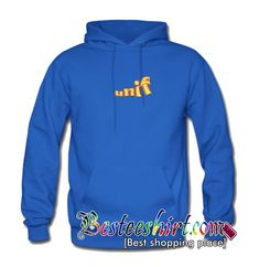 Unif Font Hoodie from besteeshirt.com This hoodie is Made To Order, one by one printed so we can control the quality.