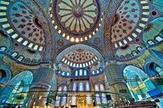 blue mosque, Istanbul by sally