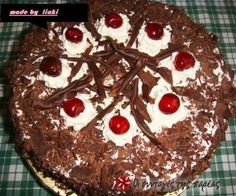 Black Forest Black Forest, Greek Recipes, Caramel, Sweet Tooth, Recipies, Food And Drink, Pudding, Sweets, Baking