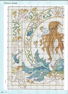 ru / Фото - The world of cross stitching 152 - tymannost Mermaid Cross Stitch, Cross Stitch Fairy, Cross Stitch Angels, Cross Stitch Love, Cross Stitch Charts, Cross Stitch Designs, Cross Stitch Patterns, Cross Stitching, Cross Stitch Embroidery